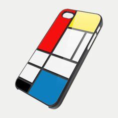 MONDRIAN ART NDR for iPhone 4/4s/5/5s/5c, Samsung Galaxy s3/s4 case