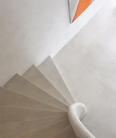 Stairway to . a lazy Sunday Balustrade Design, Stair Lift, Joinery Details, Home Decoracion, Space Architecture, House Entrance, Home Design Plans, Concrete Floors, Stairways