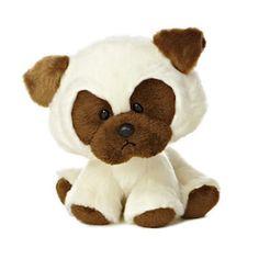 "AURORA 6""""Wobbly Bobblee"" Pug Stuffed Animal #BullyDogNation"