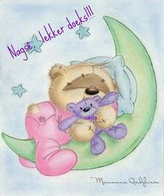 Fizzy Moon - Goodnight and sweet dreams Tatty Teddy, Baby Teddy Bear, Cute Teddy Bears, Cute Images, Cute Pictures, Fizzy Moon, Moon Bear, Blue Nose Friends, Baby Posters