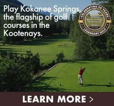 This Norman Woods original in Crawford Bay, BC is considered by many to be the flagship of Kootenay golf courses. Rickie Fowler Swing, The Magnificent Seven, Good Traits, Sundance Kid, Golf Videos, Golf Lessons, Golf Tips, State Parks, Golf Basics