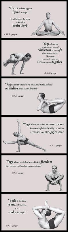 BKS Iyengar Yoga Quotes ..... #yogaquotes #bksiyengar #iyengar #iyengaryoga #bksiyengarquote #bestyogaquotes #yogainspiration #yogaguru #yogaquote #yogaquotes #yogaeverydamnday