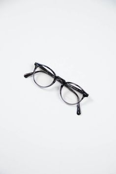 Oliver Peoples | Gregory Peck Optical Frame | Striped Grey