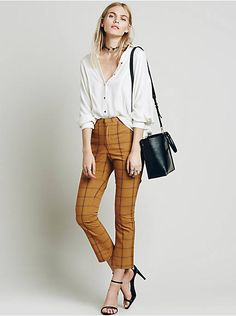 4f8b5bc84ff Free People High Waisted Cropped Flare