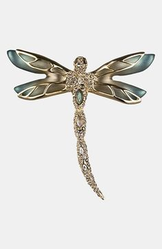 Alexis Bittar 'Lucite® - Neo Bohemian' Pavé Dragonfly Pin available at #Nordstrom