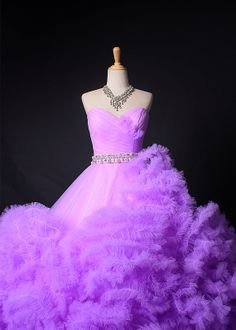 Custom Made Sweetheart Tulle Full Skirt  Quinceanera Dress,Ball Gown,Formal Gown,Prom Dress,Bridal Gown