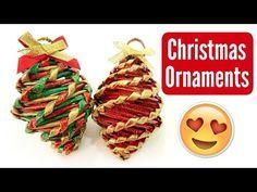 Paper Christmas Ornaments, Diy Christmas Decorations Easy, Easy Christmas Crafts, Christmas Makes, Christmas Christmas, Xmas, Easy Diy, Creations, Diana