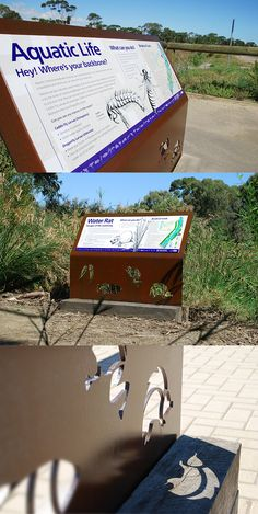interpretive signage design - Google Search