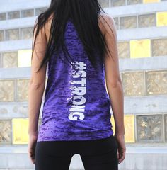 Strong Burnout Tank Top. Strong Girl by StrongGirlClothing on Etsy