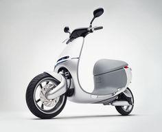 Uma scooter inovadora - High-Tech Girl