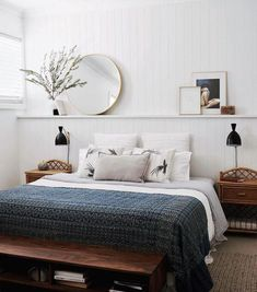 soft & neutral bedroom furniture layout master How to make a cozy bedroom in 6 easy steps Cozy Bedroom, Home Decor Bedroom, Bedroom Wall, Bedroom Furniture, Bedroom Ideas, Bed Room, Bedroom Retreat, Bedroom Apartment, Bedroom Plants