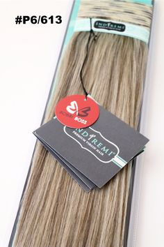 'IndiRemi' Remy Virgin 100% Human Fine Silky Weaving/Hair Extensions Hair by BOBBI BOSS