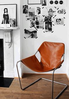 paulistano chair- whisky leather cover