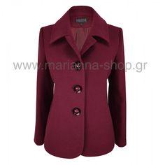 Σακάκι γυναικείο Blazers, Coat, Jackets, Shopping, Fashion, Down Jackets, Moda, Sewing Coat, Fashion Styles