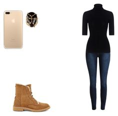 """""""Untitled #518"""" by ludya ❤ liked on Polyvore featuring Rosantica, Theory and UGG"""
