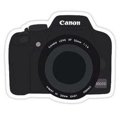 cartoon camera sticker Sticker