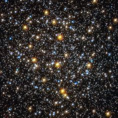 Did you know you can guess a star's age by its color? Learn more about this star cluster NGC 6362 that includes stars that are both 10 billion years old and much younger. (photo: ESA/Hubble & NASA.)