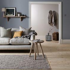 Buy John Lewis Guernsey Rug, Grey, L180 x W120cm Online at johnlewis.com