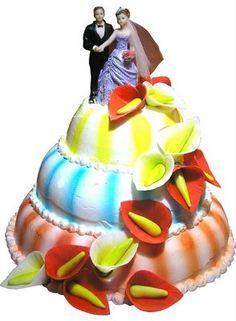 Cake Wrecks - Home - It's Wrecky Wedding Week! Wedding Cake Photos, Wedding Cake Rustic, Wedding Cakes, Wedding Week, Wedding Bride, Ugly Cakes, Funny Cake, Cake Wrecks, Unique Cakes