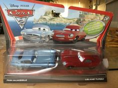 DISNEY PIXAR CARS 2 FINN McMISSILE #2 BY MATEL 2010 NEW ON CARD LQQK