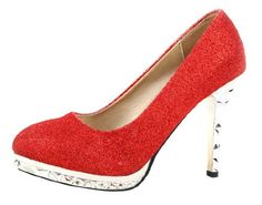 Honeystore Women's Platform Wedding Glitter Fabric Pumps Red 6 B(M) US Honeystore,http://www.amazon.com/dp/B00EL0ZFFA/ref=cm_sw_r_pi_dp_Hv-zsb1WG9CB7Z2F