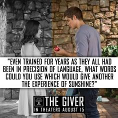 97 Best The Giver Quotes Images Giver Quotes The Giver Book Quotes
