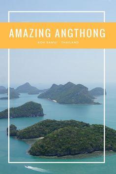 Take a look at the amazing Angthong National Marine Park, near Koh Samui, Thailand.