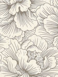 Poise Superfresco Easy Wallpaper | AmericanBlinds.com #floral