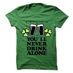 Cool Never Drink Alone T-Shirts