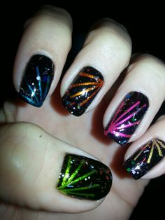 Kimberley's Nails! New Year's Eve fireworks