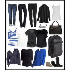 Travel clothes - Tampa in January .... would this work in Oralndo??? ;-)