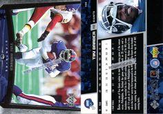 tiki barber football card | 1998 tiki barber giants 2 upper deck cards 169 itm # f5944 1 card is ...