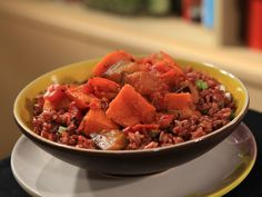 Eggplant and Squash Curry Recipe : Rachael Ray : Food Network - FoodNetwork.com