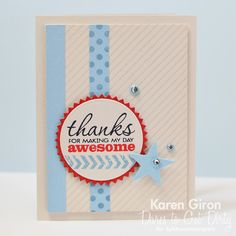 Card by Karen Giron using Better Together from Verve.  #vervestamps