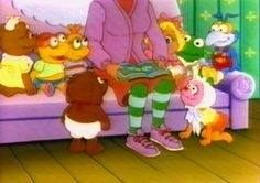 The Muppet Babies...another one of my favorite Saturday morning cartoons. I never really understood why they would never show Nannys head??