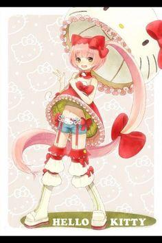 #Nekomura Iroha #vocaloid Iroha, Anime Family, Art Inspiration Drawing, Kawaii Anime Girl, Anime Girls, Sanrio Characters, Mobile Wallpaper, Kitty Wallpaper, Hatsune Miku