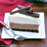 Triple Chocolate Mousse Pie