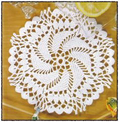 Vida Pink - Meus Crochês: Toalhinha de Crochê branca