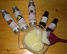 DIY Soin protéiné cheveux secs/rêches/abimés : 3 grosses CS d'après-shampooing + 1 CS d'huile de coco + 1 CS d'huile d'amande douce + 1 CS d'huile d'avocat + 2 gouttes d'HE de tea tree + 8 gouttes de protéines de riz hydrolisé