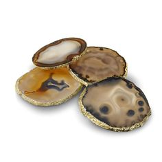 Agate gold rimmed coaters...YES!!!!!