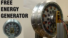 Free Energy Magnet Motor ( free electricity, no water . Magnetic Generator, Diy Generator, Homemade Generator, Motor Generator, Water Energy, Solar Energy, Alternative Energie, Zero Point Energy, Energy Projects