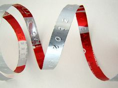 Make Aluminum Embossed Labels out of soda cans