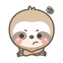 Sloth Stuff, Cute Baby Sloths, Shrinky Dinks, Instagram Ideas, Tired, Cute Babies, Card Stock, Art Drawings, Hello Kitty