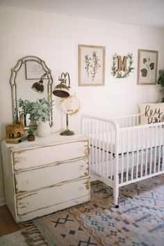 Nursery set up, vintage nursery girl, nursery ideas, vintage