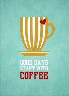 Ganbaroo loves coffee!