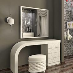 Let us help you transform your house into a design - Amy Starcourt Luxury Bedroom Furniture, Room Furniture Design, Bedroom Bed Design, Girl Bedroom Designs, Bedroom Colors, Home Decor Furniture, Bedroom Decor, Dressing Table Modern, Dressing Room Design