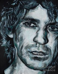 Keith Richards Art Print by Tanya Filichkin. All prints are professionally printed, packaged, and shipped within 3 - 4 business days. Thing 1, Keith Richards, All Art, Fine Art America, Art Prints, Image, Art Impressions, Art Print