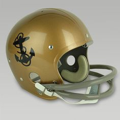edeee1ca2d6 Navy Midshipmen 1960 Joe Bellino Full Size Throwback Helmet by Riddell