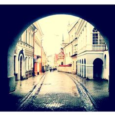 Old city photography