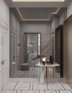Interior design studio based in Kiev, Ukraine Interior Design Living Room Modern, Bathroom Design Luxury, House Interior, Classic Interior Design Luxury, Luxury Home Decor, Hallway Designs, Interior Design Studio, Parisian Interior, Floor Design